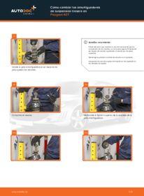 ¿Cómo realizar un reemplazo de Amortiguadores en 2.0 HDi 135 ? Eche un vistazo a nuestra guía detallada y sepa cómo hacerlo.