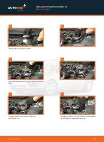 Ako vykonať výmenu: Palivový filter na 1.6 TDCi Ford Focus 2 da