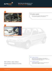 Wie der Wechsel durchführt wird: Zündkerzen Nissan Micra k11 1.0 i 16V 1.3 i 16V 1.4 i 16V tauschen