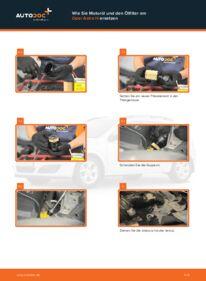 Wie der Wechsel durchführt wird: Ölfilter Opel Astra h l48 1.7 CDTI (L48) 1.6 (L48) 1.4 (L48) tauschen