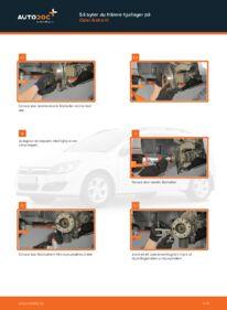 Så byter du Hjullager på 1.7 CDTI (L48) Opel Astra h l48