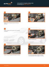 Jak przeprowadzić wymianę: Łożysko koła w 1.7 CDTI (L48) Opel Astra h l48