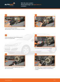 Wie der Wechsel durchführt wird: Radlager 1.7 CDTI (L48) Opel Astra h l48 tauschen