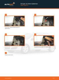 Så byter du Fjäderbenslagring på 1.7 CDTI (L48) Opel Astra h l48