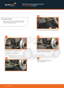 Wie der Wechsel durchführt wird: Spurstangenkopf Opel Astra h l48 1.7 CDTI (L48) 1.6 (L48) 1.4 (L48) tauschen