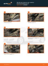 Wie der Wechsel durchführt wird: Querlenker Opel Astra h l48 1.7 CDTI (L48) 1.6 (L48) 1.4 (L48) tauschen
