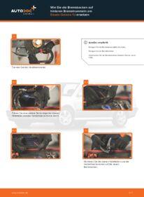 Wie der Wechsel durchführt wird: Bremsbacken Skoda Octavia 1u 1.9 TDI 1.6 RS 1.8 T tauschen