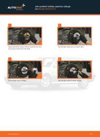 Jak provést výměnu: Lozisko kola na 1.9 TDI Skoda Octavia 1u