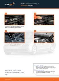 Wie der Wechsel durchführt wird: Innenraumfilter BMW E60 530d 3.0 525d 2.5 520d 2.0 tauschen
