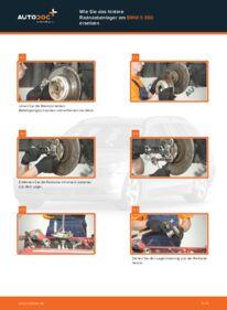 Wie der Wechsel durchführt wird: Radlager BMW E60 530d 3.0 525d 2.5 520d 2.0 tauschen