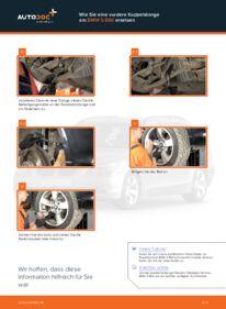 Wie der Wechsel durchführt wird: Koppelstange BMW E60 530d 3.0 525d 2.5 520d 2.0 tauschen