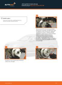 Jak przeprowadzić wymianę: Tarcza hamulcowa w 2.2 CRDi 4x4 Hyundai Santa Fe cm