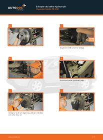 Så byter du Hjullager på 2.2 CRDi 4x4 Hyundai Santa Fe cm