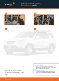 Wie der Wechsel durchführt wird: Koppelstange Honda CR-V II 2.0 (RD4) 2.2 CTDi (RD9) 2.0 tauschen