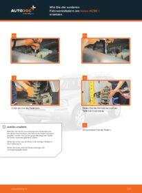 Wie der Wechsel ausgeführt wird: Federn beim 2.4 D5 Volvo XC90 1
