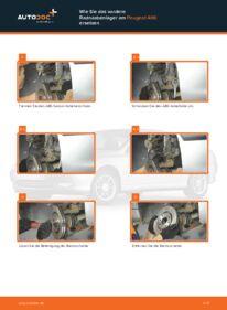 Wie der Wechsel durchführt wird: Radlager 2.0 HDI 110 Peugeot 406 Kombi tauschen