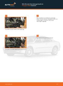 Wie der Wechsel durchführt wird: Spurstangenkopf 2.0 HDI 110 Peugeot 406 Kombi tauschen