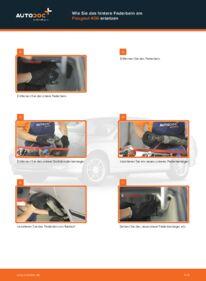 Wie der Wechsel durchführt wird: Domlager 2.0 HDI 110 Peugeot 406 Kombi tauschen