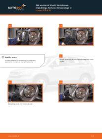 Jak przeprowadzić wymianę: Klocki Hamulcowe w HONDA CR-V
