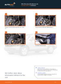 Wie der Wechsel durchführt wird: Zündkerzen Honda CR-V III 2.2 i-CTDi 4WD (RE6) 2.0 i 4WD (RE5) 2.2 i-DTEC 4WD (RE6) tauschen