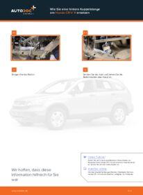 Wie der Wechsel durchführt wird: Koppelstange Honda CR-V III 2.2 i-CTDi 4WD (RE6) 2.0 i 4WD (RE5) 2.2 i-DTEC 4WD (RE6) tauschen