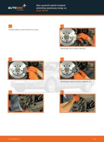 Ako vykonať výmenu: Brzdové Platničky na 2.0 TDI Audi A4 b7