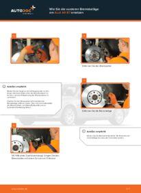 Wie man Bremsbeläge beim AUDI A4 austauscht? Lesen Sie unseren ausführlichen Leitfaden und erfahren Sie, wie es geht.