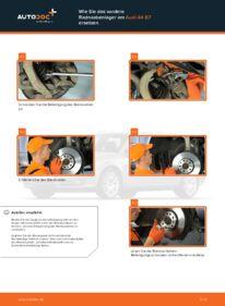 Wie der Wechsel durchführt wird: Radlager Audi A4 b7 2.0 TDI 2.0 TDI 16V 1.9 TDI tauschen