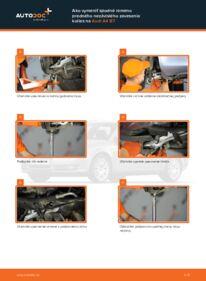 Ako vykonať výmenu: Rameno Zavesenia Kolies na 2.0 TDI Audi A4 b7