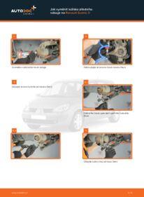 Jak provést výměnu: Lozisko kola na 1.9 dCi Renault Scenic 2