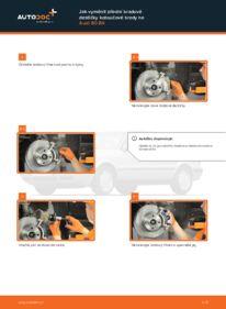 Jak provést výměnu: Brzdové Destičky na 2.0 Audi 80 b4
