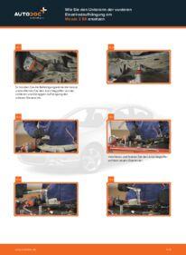 Wie der Wechsel durchführt wird: Querlenker Mazda 3 bk 1.6 1.6 DI Turbo 2.0 tauschen