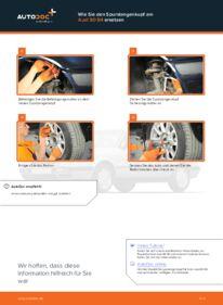 Wie der Wechsel durchführt wird: Spurstangenkopf 2.0 Audi 80 b4 tauschen
