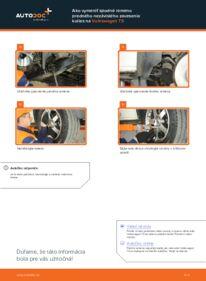 Ako vykonať výmenu: Rameno Zavesenia Kolies na 2.5 TDI VW T5 Valník