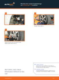 Wie der Wechsel durchführt wird: Koppelstange VW T5 Pritsche 2.5 TDI 2.5 TDI 4motion 1.9 TDI tauschen