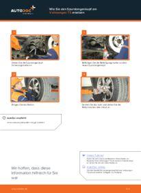 Wie der Wechsel durchführt wird: Spurstangenkopf VW T5 Pritsche 2.5 TDI 2.5 TDI 4motion 1.9 TDI tauschen