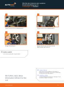 Wie der Wechsel durchführt wird: Querlenker VW T5 Pritsche 2.5 TDI 2.5 TDI 4motion 1.9 TDI tauschen
