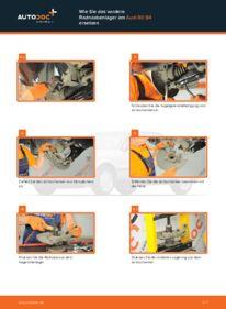 Wie der Wechsel durchführt wird: Radlager Audi 80 b4 2.0 2.0 E 1.9 TDI tauschen