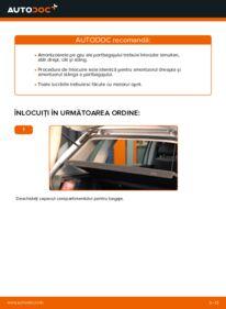 Cum să efectuați înlocuirea: Amortizor Portbagaj la 1.4 16V Polo 9n