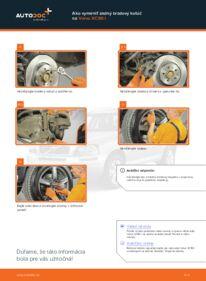 Ako vykonať výmenu: Brzdový kotouč na 2.4 D5 Volvo XC90 1