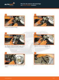 Wie der Wechsel durchführt wird: Bremsbeläge 2.4 D5 Volvo XC90 1 tauschen