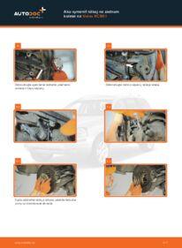 Ako vykonať výmenu: Lozisko kolesa na 2.4 D5 Volvo XC90 1