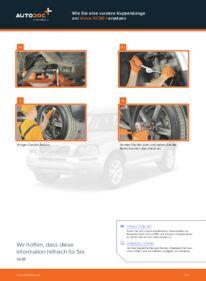 Wie der Wechsel durchführt wird: Koppelstange Volvo XC90 1 2.4 D5 2.5 T AWD 2.9 T6 tauschen