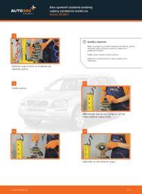 Ako vykonať výmenu: Horné Uloženie Tlmiča na 2.4 D5 Volvo XC90 1