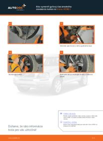 Ako vykonať výmenu: Guľový Čap Ramena na 2.4 D5 Volvo XC90 1