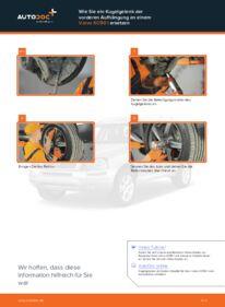 Wie der Wechsel durchführt wird: Traggelenk Volvo XC90 1 2.4 D5 2.5 T AWD 2.9 T6 tauschen