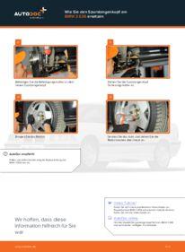 Wie der Wechsel durchführt wird: Spurstangenkopf BMW E36 Compact 316i 1.6 316i 1.9 323ti 2.5 tauschen