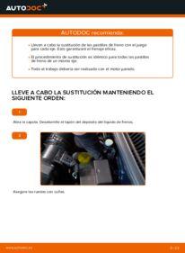 ¿Cómo realizar un reemplazo de Pastillas De Freno en 1.4 16V ? Eche un vistazo a nuestra guía detallada y sepa cómo hacerlo.