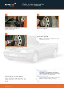 Wie der Wechsel durchführt wird: Spurstangenkopf Golf 3 Cabrio 1.8 2.0 1.6 tauschen