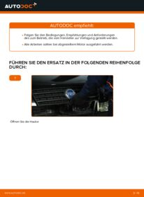 Wie der Wechsel durchführt wird: Luftfilter Fiat Punto 188 1.2 60 1.2 16V 80 1.3 JTD 16V tauschen